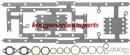 1429672 CATERPILLAR 3406E CENTRAL AND LOWER GASKET SET